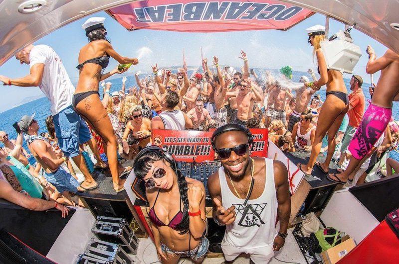 Oceanbeat Boat Party Ibiza