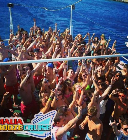 boat party tickets Malia