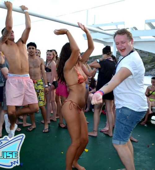 Crazy time on the Malia Booze Cruise