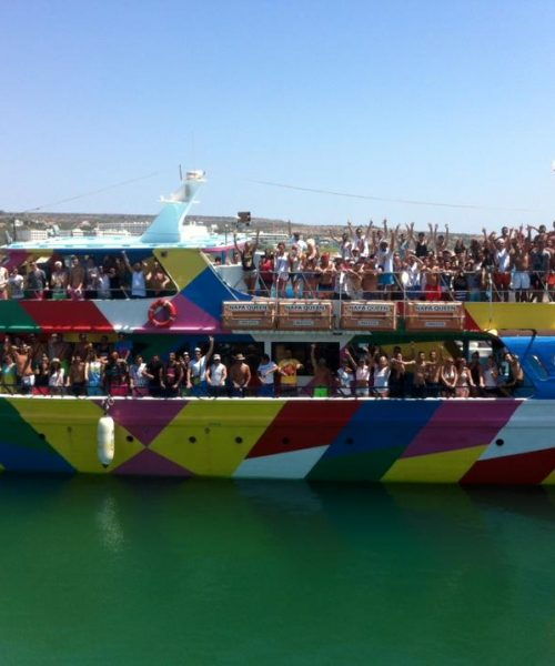 boat parties ayia napa
