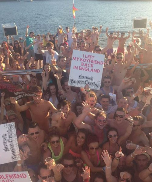 Sunset Booze Cruise Magaluf 2017