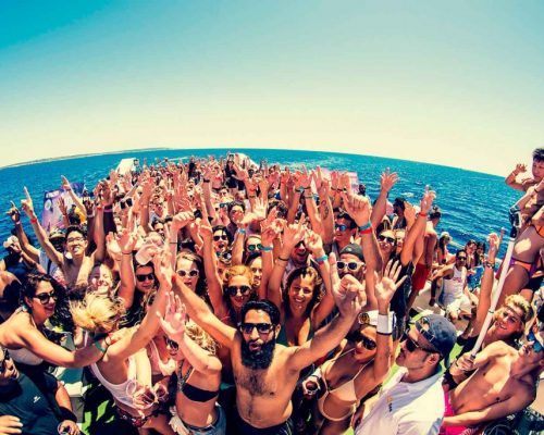 Oceanbeat Boat Party Ibiza