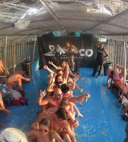 Boat Party Games Phi Phi Thailand