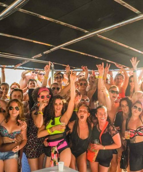 Insomnia boat party Tenerife