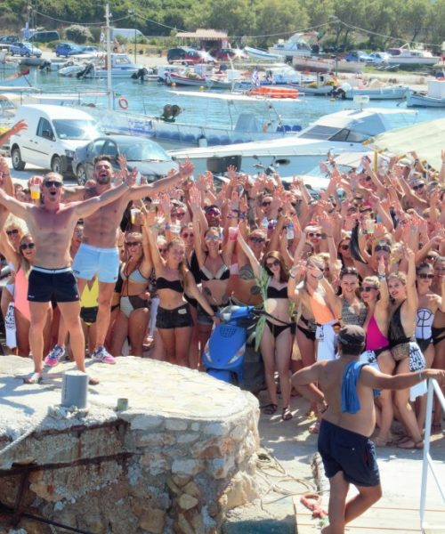 Shipfaced Boat Party Zante