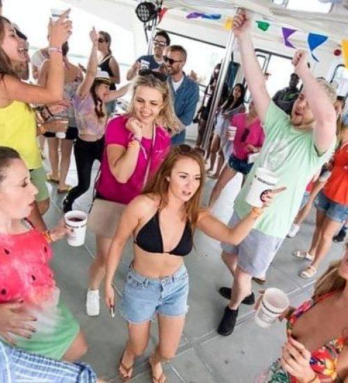 boat parties Ibiza