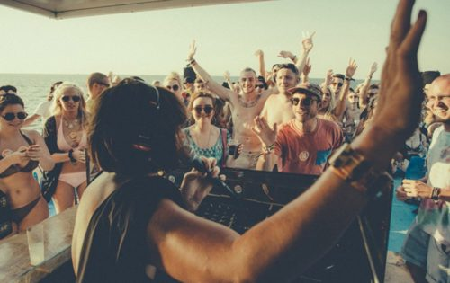 ibiza boat party dj